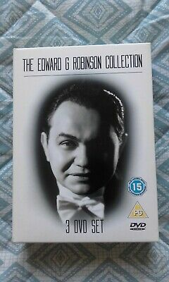 £15 • Buy The Edward G Robinson Collection DVD (2007) Cert PG 3 Dvds LIKE NEW