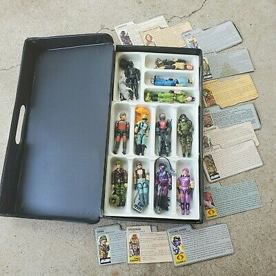 $ CDN1007.07 • Buy Vintage GI Joe Lot--  12 Figures Complete With Accessories And File Cards