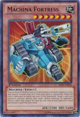 $5.66 • Buy Machina Fortress - BP01-EN022 - Rare - 1st Edition X3 - Lightly Played