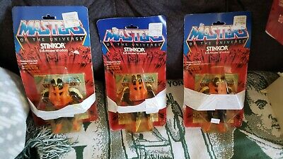 $205 • Buy Vintage He-man Masters Of The Universe Stinkor Unopened , MOTU,  3 Available