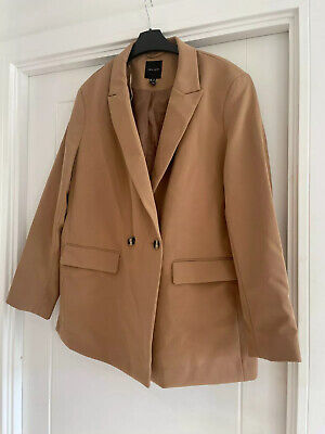 £17.50 • Buy New Look Camel Blazer Size 16 Worn Once RRP £30