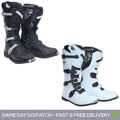 £79.99 • Buy Wulfsport Track Star Adult Motocross Boots Off Road ATV Dirt Bike Wulf All Sizes