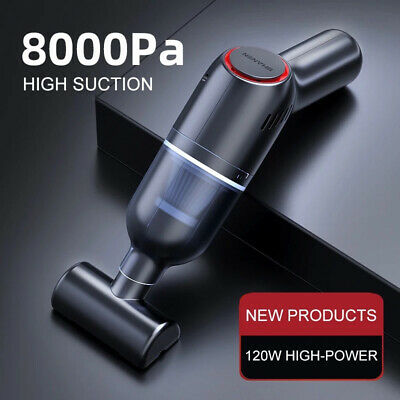 AU28.95 • Buy 8000Pa Car Vacuum Cleaner Suction Cordless Handheld Rechargeable Portable Duster