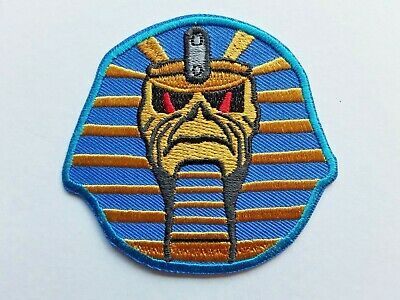 £3.99 • Buy Iron Maiden Heavy Metal Rock Punk Pop Music Band Embroidered Patch Uk Seller