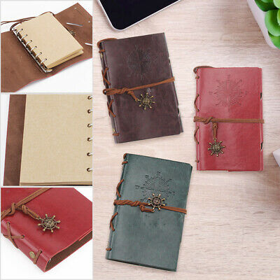 £5.19 • Buy Classic Retro Journal Travel Leather Notepad  Handmade Vintage Pirate Style UK