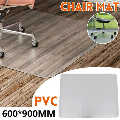 AU28.49 • Buy PVC Office Chair Mat Plastic Mat Oversized Protect Hard Floor In Home And Office
