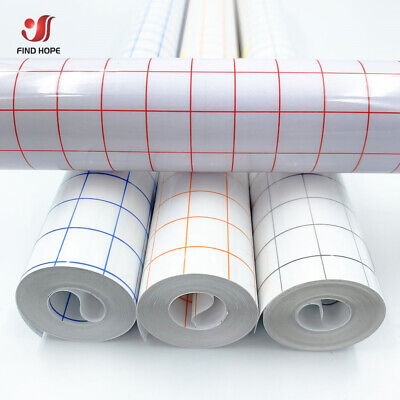 £9.99 • Buy Vinyl Transfer Paper Tape Roll Cricut Adhesive Clear Alignment Grid 12inch *16FT