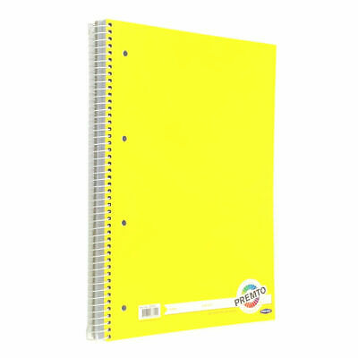 £4.99 • Buy A4 Notebook Refill Pad Lined 320 Punched Pages Ruled Wire Bound Writing Jotter