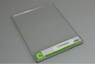 Craft Emotions - Die-Cutting Embossing - C PLATE- Single ADAPTER For Cuttlebug • 9.75£