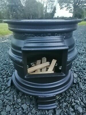 £75.60 • Buy   Upcycled Car Rim Fire Pit Barbecue Camping