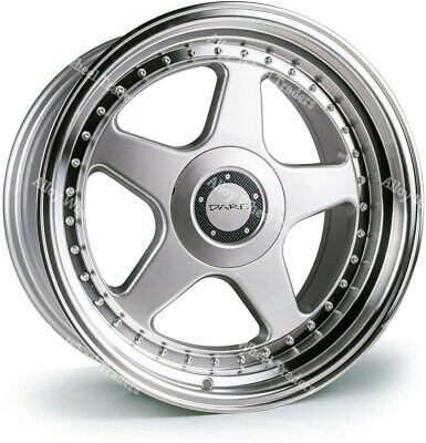 AU1098.78 • Buy Alloy Wheels 17  DR-F5 For Rover 25 45 200 400 Streetwise MG3 4x100 Silver