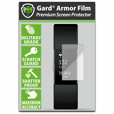 AU7.11 • Buy Gard For FITBIT Charge 2 / II SCREEN PROTECTOR Military Shield - Pack Of 6