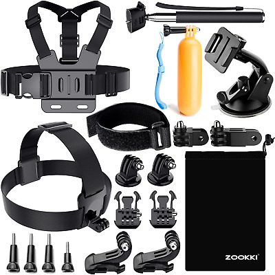 $ CDN24.70 • Buy ZOOKKI Accessories Kit For Gopro Hero 7 6 5 4 3, Action Camera Accessories For X