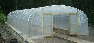 £1590 • Buy 21ft Wide Polytunnel Greenhouse - 6.4m Wide Commercial Polythene Poly Tunnel