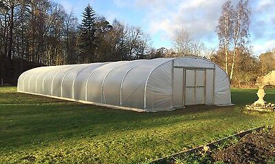 £3657 • Buy 24ft Wide Polytunnel Greenhouse - Commercial Polytunnel From Premier Polytunnels
