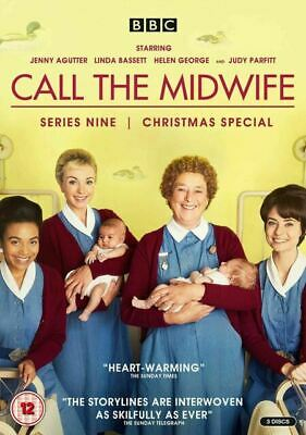 Call The Midwife: Series 9 (DVD, 2020, 3-Disk Set)  **NEW** • 6.90£