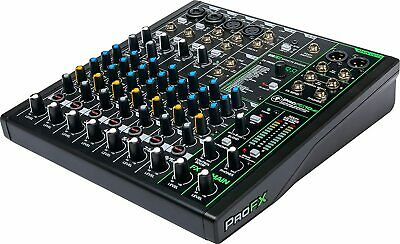 $189 • Buy Mackie PROFX10v3 10 Channels Professional Effect Mixer W/USB GigFX Effects -UC