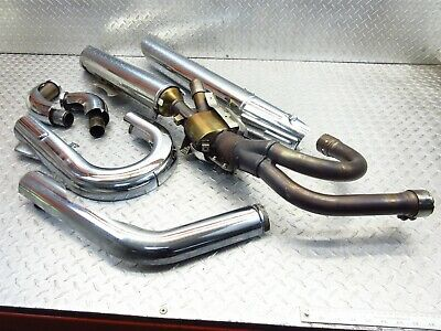 $232.45 • Buy 2007 06-09 Suzuki VZR1800 M109R M109 Boulevard Exhaust Mufflers PIpes Cans Lot