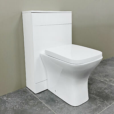 £161.99 • Buy Compact WC Unit With Concealed Cistern With Optional Gina Square Toilet Pan