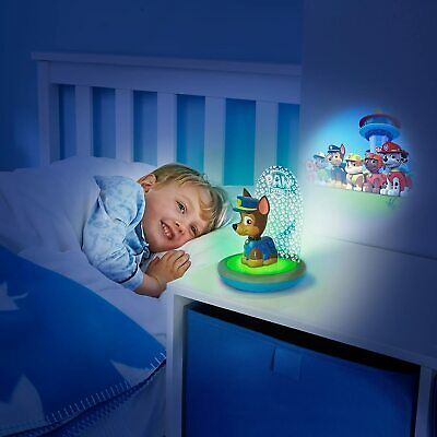 £25.95 • Buy Paw Patrol Chase 3-in-1 Night Light, Torch And Projector By Go Glow Gift Set NEW