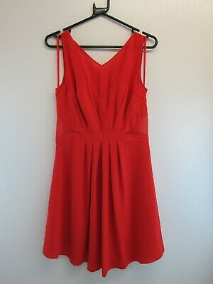 AU44.85 • Buy Women's Coast Lipstick / Red Olivette Dress - Uk Size 12, With Tags         #et#