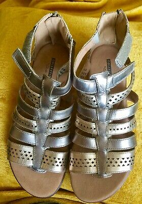 Clarkes, Collection Size 5 Gladiator Sandals • 10£