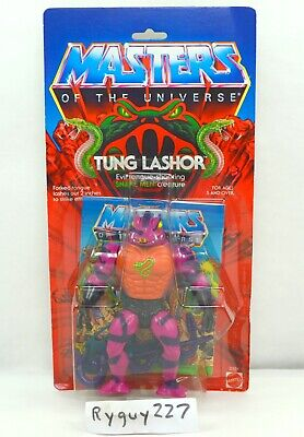 $395 • Buy MOTU, Tung Lashor, Masters Of The Universe, MOC, Carded, Figure, He Man, Sealed