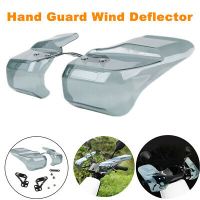 $32.99 • Buy Motorcycle Bikes Hand Guard Wind Deflector Mounting Brackets Protective Guard