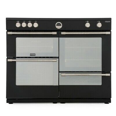 £1246.96 • Buy Refurbished Stoves Sterling Deluxe S1100Ei Black 110cm Electric Induction Ran...