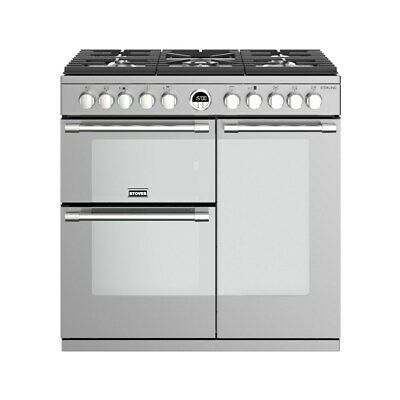 £1090.96 • Buy Stoves Sterling S900DF Stainless Steel 90cm Dual Fuel Range Cooker