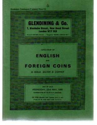 £14.50 • Buy Catalogue Of English And Foreign Coins In Gold, Silver And Copper, Glendining &