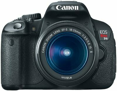 £281.52 • Buy Canon EOS 650D Rebel T4i 18.0 MP Digital SLR With 18-55mm F/3.5-5.6 IS II Lens