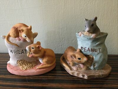 £7.90 • Buy Mice Mouse Figures Collection Ornaments X 2 No Damage VGC