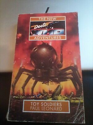 Doctor Who The New Adventures - Toy Soldiers By Paul Leonard Paperback  • 3.99£