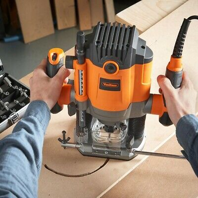 £99.99 • Buy Professional Router 1600W Woodwork Joiner Diy Cutting Tool Carpentry