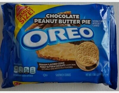 £10.54 • Buy **New** Oreo Chocolate Peanut Butter Pie Cookies FAMILY SIZE FREE SHIPPING