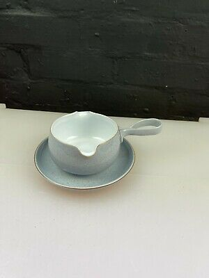 £17.99 • Buy Denby Reflections Twin Pour Gravy Boat / Sauce Jug And Stand / Saucer