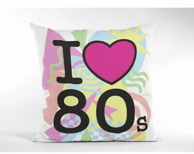 £5.40 • Buy I Love The 80s Cushion Cover