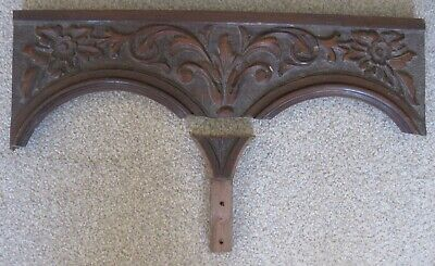 £9.99 • Buy Carved Wooden Panel From Piece Of Furniture
