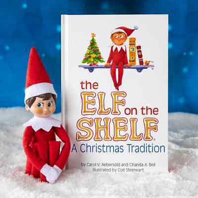 £17.50 • Buy Elf On The Shelf : A Christmas Tradition Blue-Eyed Boy Light Tone Scout Doll Toy