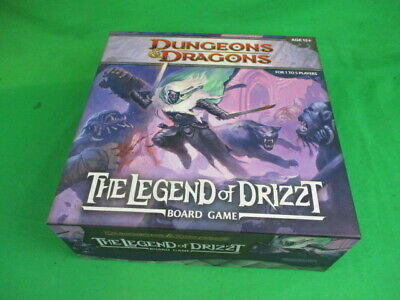 AU84.85 • Buy Dungeons & Dragons The Legend Of Drizzt Board Game