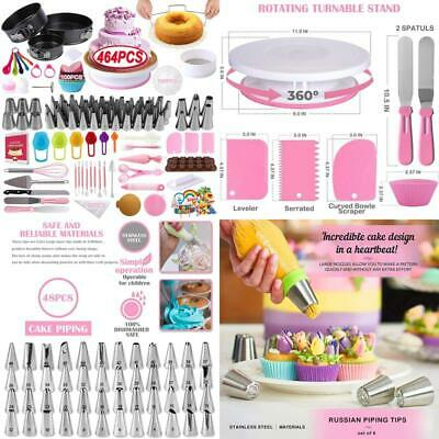 £48.79 • Buy Cake Decorating Supplies Kit,Dafonso 464 Pcs With Non-Slip Cake Turntable And
