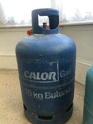 15kg Butane Calor Gas Bottle And 7kg Butane Handy Gas Bottle - Both Half Full • 2.20£