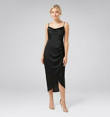 AU45 • Buy BNWT Forever New Holly Petite Cowl Neck Dress Size 10