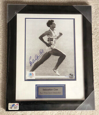 £65 • Buy LORD SEBASTIAN COE - Signed Olympic 2012 - Limited Edition