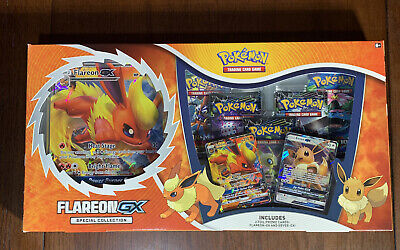 $85.99 • Buy Pokemon TCG: Flareon-GX SPECIAL COLLECTION Box Factory Sealed Evolutions Xy