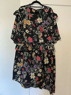 AU20 • Buy Asos Curve Influence Floral Dress Size 20