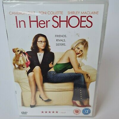 £3.99 • Buy In Her Shoes DVD 2005 Sisters Comedy Drama Cameron Diaz Toni Collette NEW SEALED