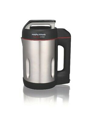 £85.79 • Buy Morphy Richards 501014 Sauté And Soup 1.6 Litres Soup Maker Stainless Steel New