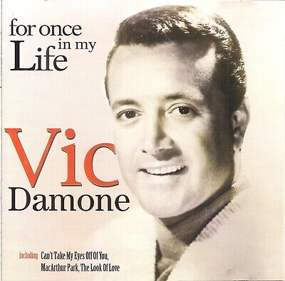 £1 • Buy Vic Damone - For Once In My Life (2000) CD - Recorded Live